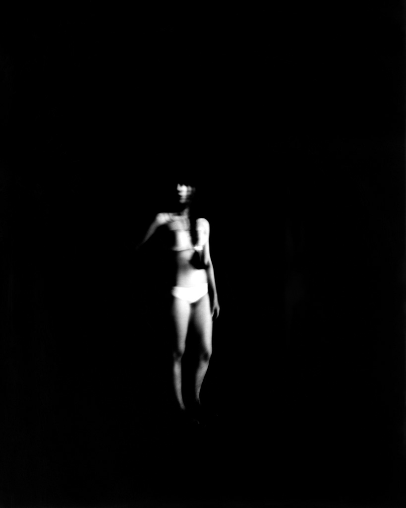 "Pinhole positive direct FB paper Harman 8x10"" by Israel Caballero"